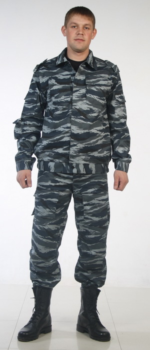 Костюм Спецназ серый КМФ