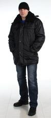 Куртка утепленная «Зима»  Черный оксфорд