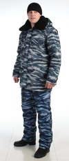 Куртка утепленная «Зима» Оксфорд